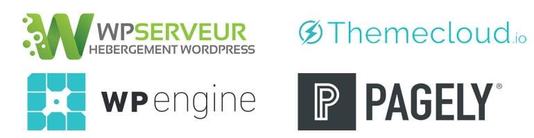 Les hébergeurs spécialisés WordPress