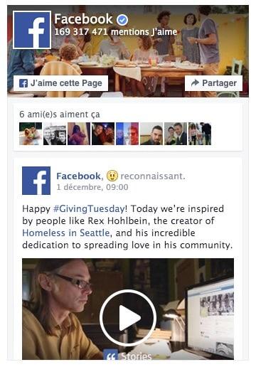 Le plugin de page Facebook